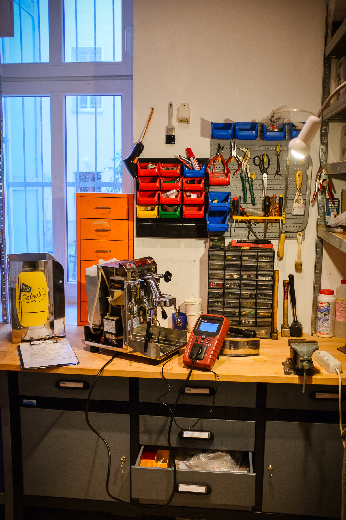 Reparatur und Wartung in unserer Siebträger Espressomaschinen Werkstatt