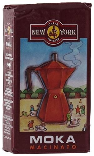 New York Caffè Mokka, gemahlen