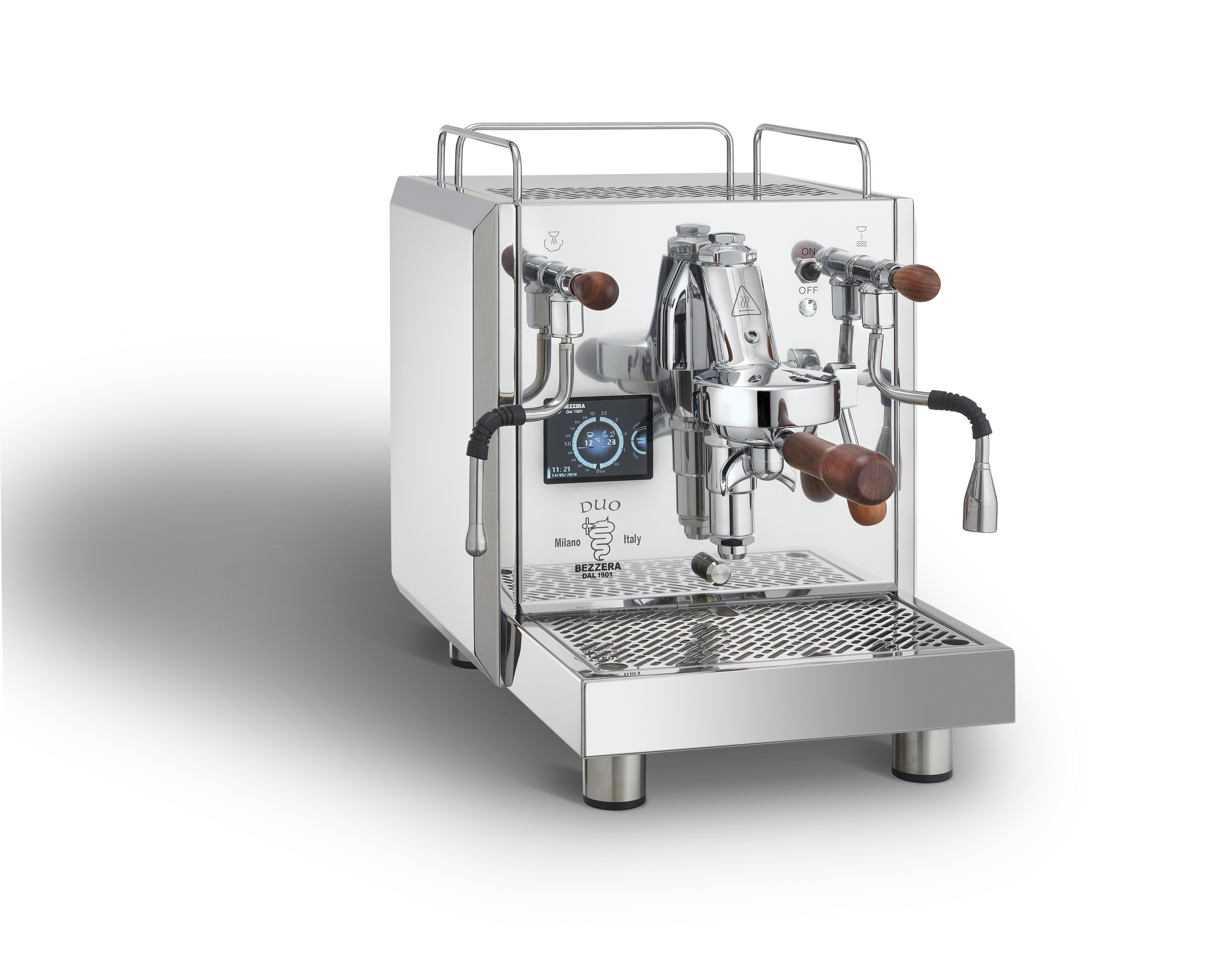 Siebträger Espressomaschine Bezzera Duo
