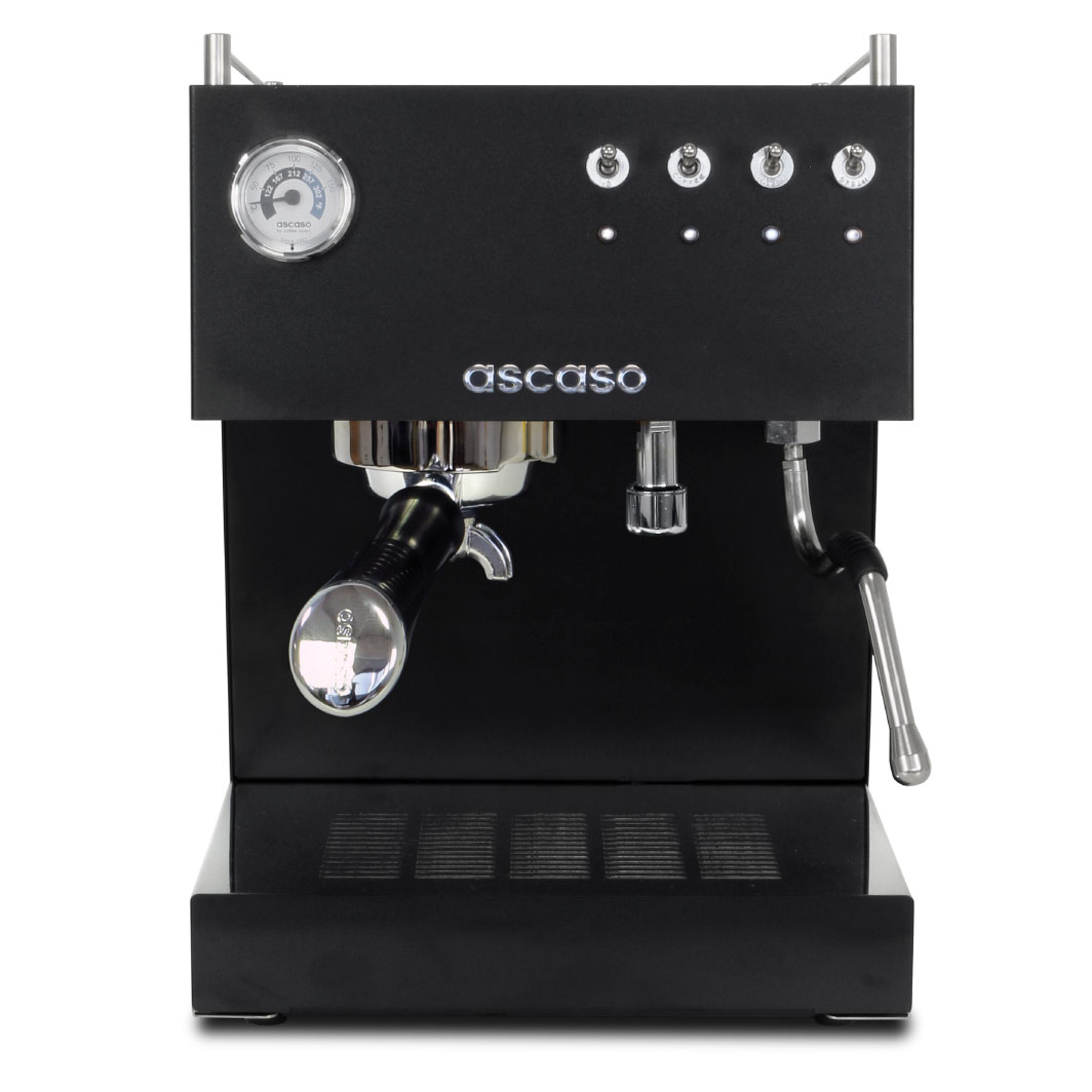 Siebträger Espressomaschine Ascaso Steel Duo