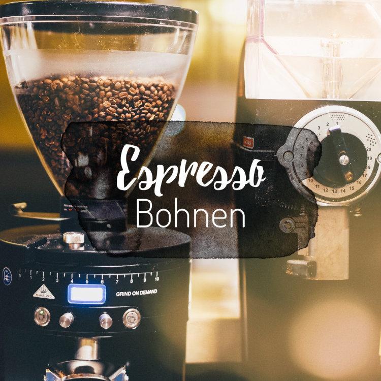 ausgewählte Espresso caffè ganze Bohnen