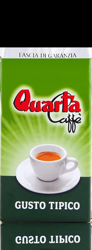 Quarta Caffè Giusto Tipico, gemahlen