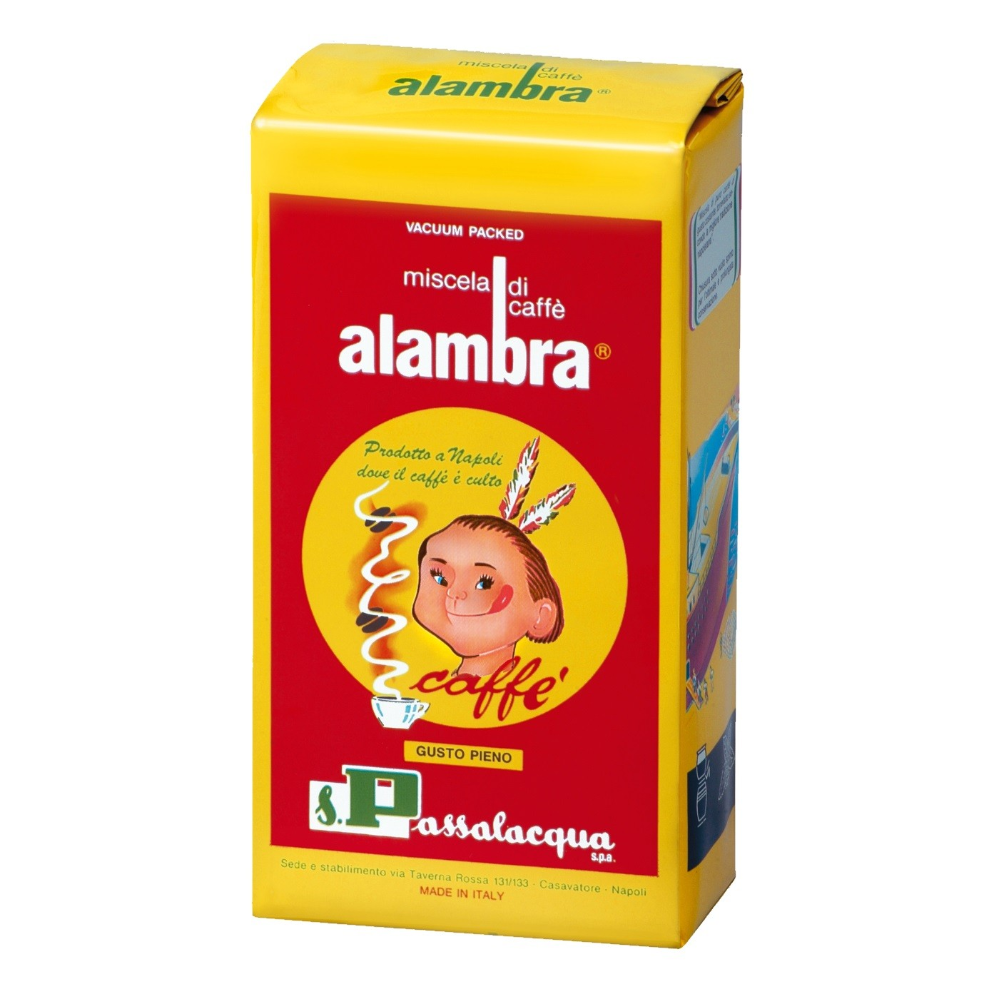 Passalacqua Alambra, gemahlen