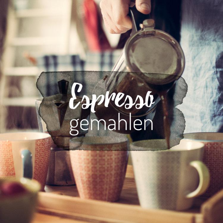 gemahlener Espresso